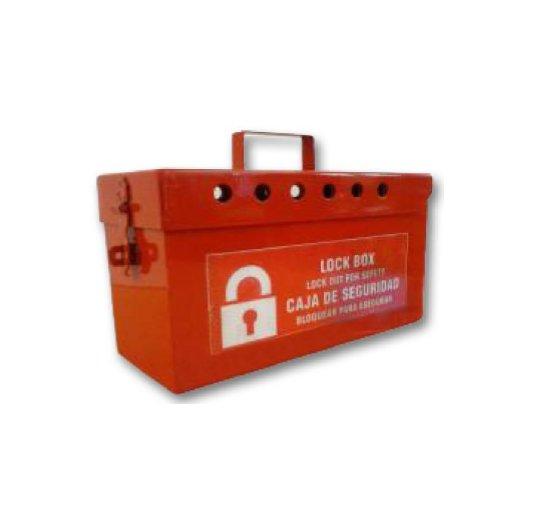 Caja alcancía metálica para llaves