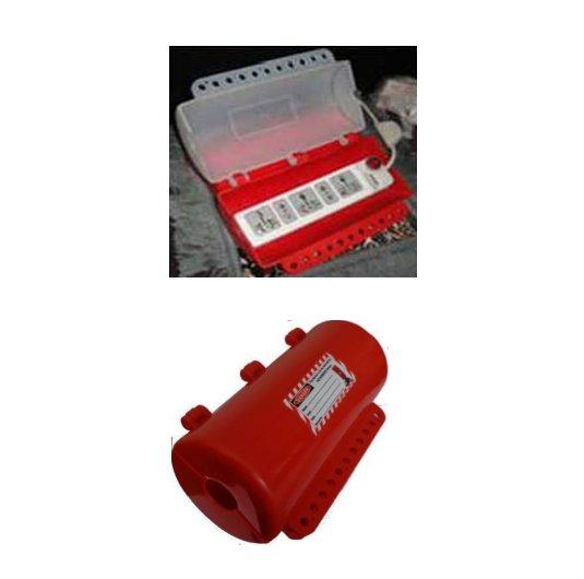 Bloqueadores cilíndricos PL200 para enchufes eléctricos