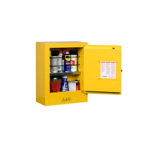 GABINETES 890200 10 lt PM IGNIFUGOS JUSTRITE 10 Litros amarillos Puerta manual