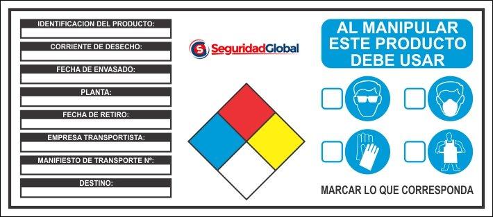 carteles industriales especiales a pedido producto