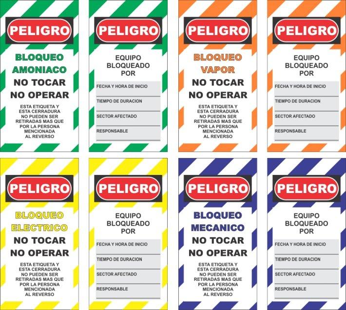 carteles industriales especiales a pedido tarjetas