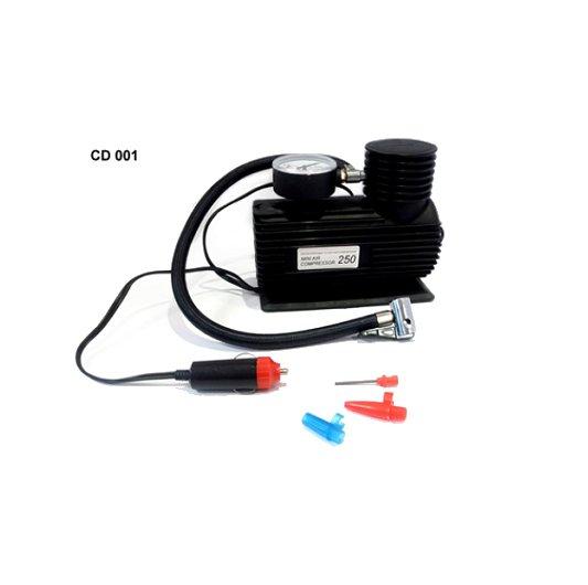 Compresor 12v 250 psi 3 picos