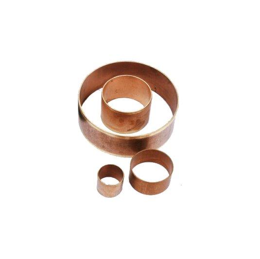 Aros de cobre para mandrilado