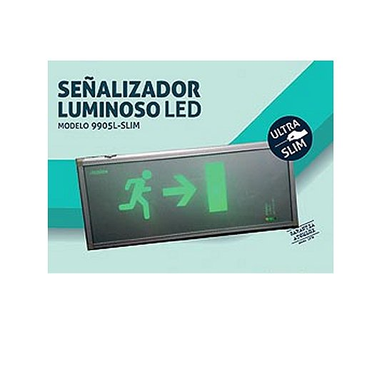 Señalizador SALIDA Led ULTRA SLIM