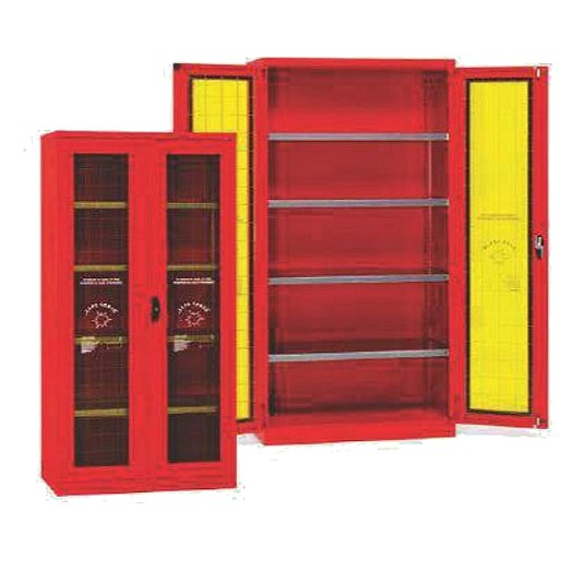 Armarios EPI anti-incendio de seguridad con puertas y estantes