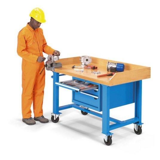 Banco de trabajo 328S1 con cajonera para herramientas