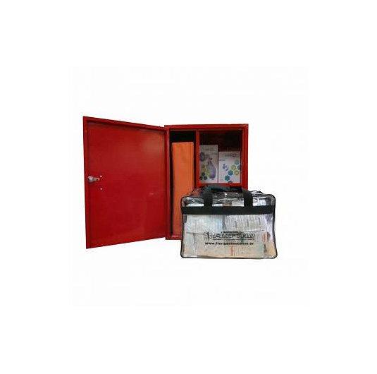 Mini estación 1ros auxilios básica estacion de primeros auxilios con gabinete (Copiar)