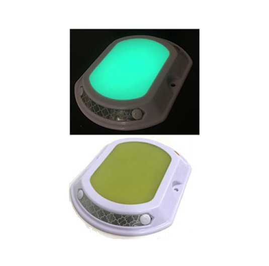 Tachas Viales fotoluminiscentes 10 cm x 12 cm