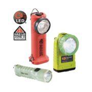 Linternas de mano LED distintos tipos