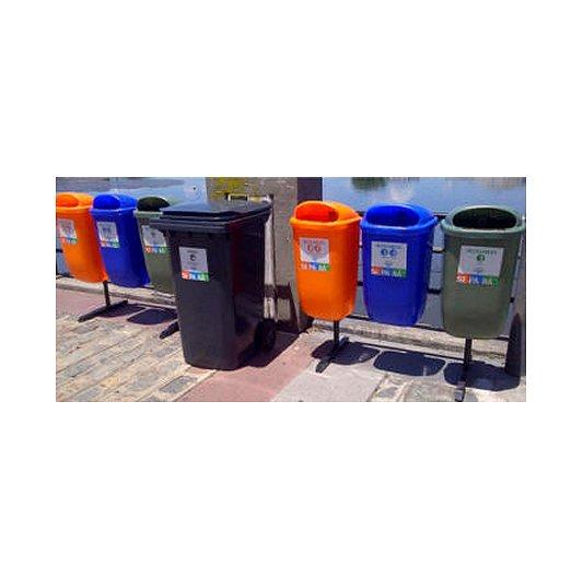 Estaciones de reciclado 50 litros