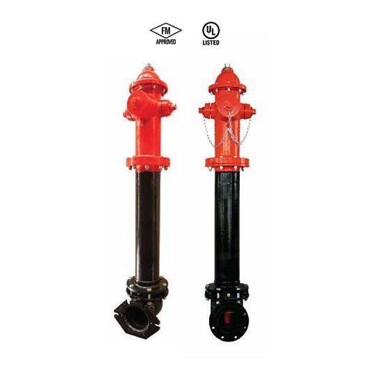 Hidrantes 250 PSI SFL-DBH-250-F SFL-DBH-250-MJ