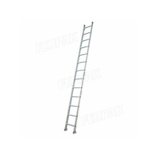Escaleras de aluminio 136 Kgs hoja simple