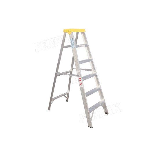 Escaleras de aluminio tijera familiar domestica 113 Kgs