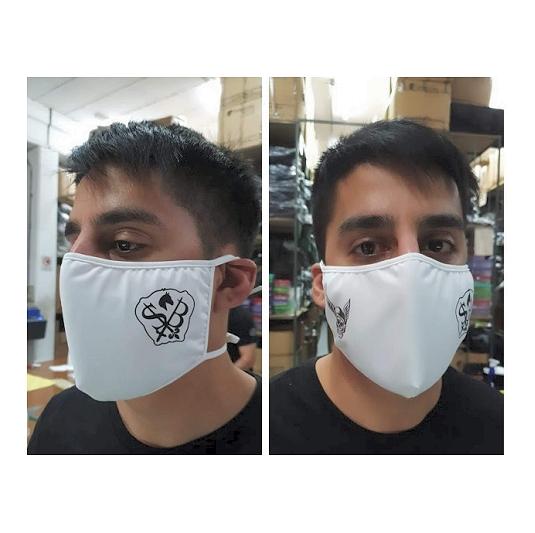 Barbijos Tapa bocas industrial de lycra