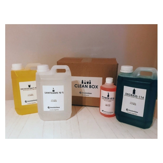 Clean Box Kits limpieza 5 Lts empresas oficinas