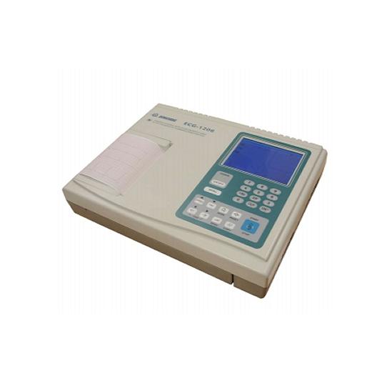 Electrocardiógrafos 6 canales con análisis + ondas Electrocardiógrafos digitales