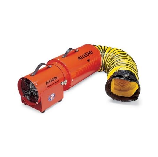 Equipos sopladores 1/4 HP para ventilar espacios confinados