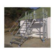 Escaleras especiales a medida de aluminio