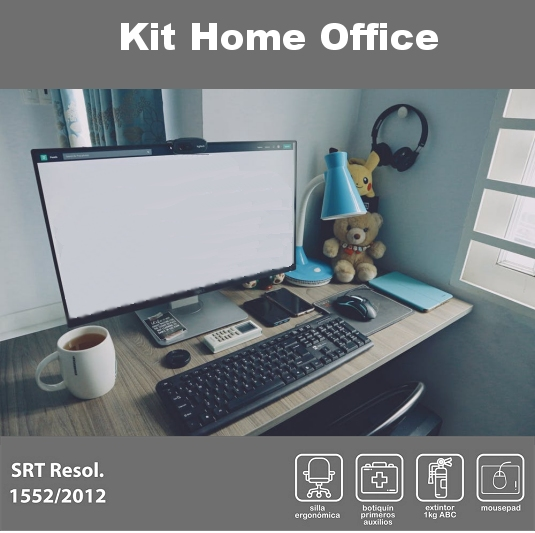 Kit Home Office Teletrabajo SRT 1552