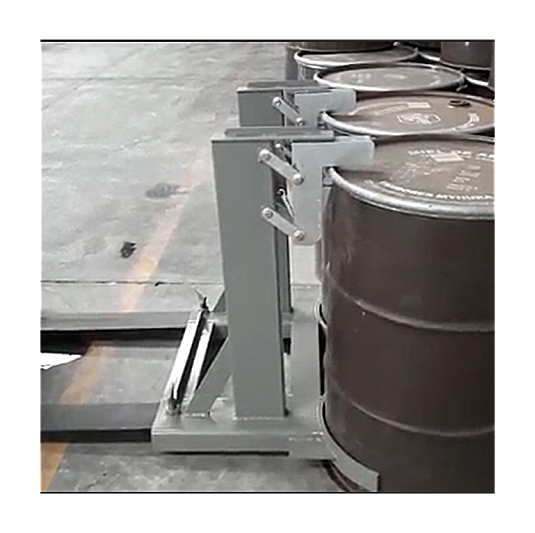 Parrots 2 tambores Grampas Clamps manipular tambores con autoelevador
